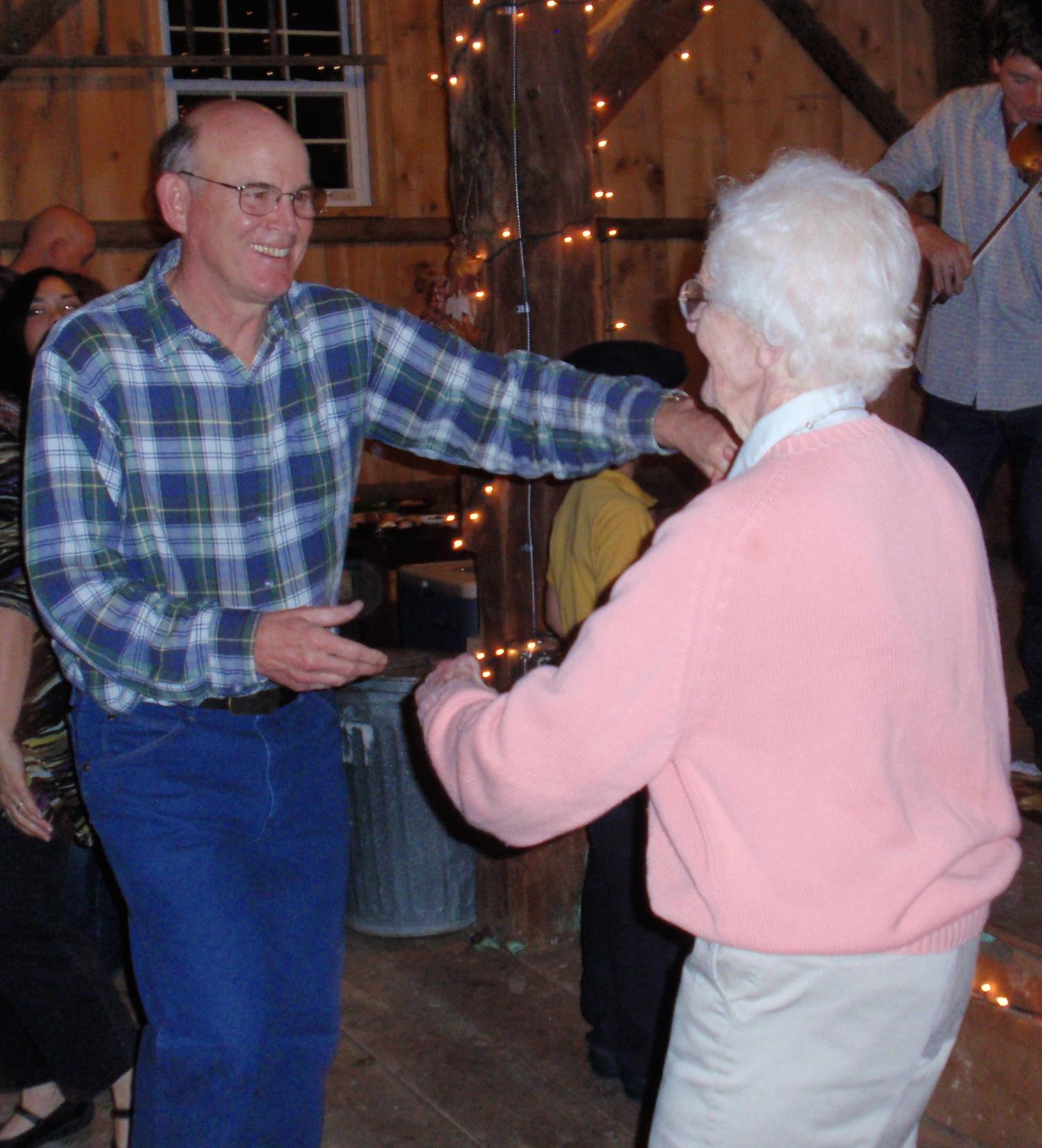 Marion Broaddus Dancing